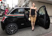 Fiat 500 by Gucci via London naar Goodwood