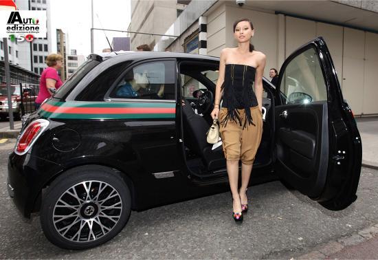 Gucci Fiat 500 >> Fiat 500 by Gucci via London naar Goodwood | Auto Edizione