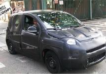 Nieuwe Fiat Panda 2011 doet eerste testrit op de weg