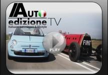 Fiat 'Mefistofele' vs Fiat 500C TwinAir; Van veel naar weinig uitstoot!