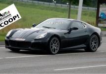 Opvolger Ferrari 599 Fiorano gespot