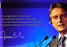 Luca Cordero di Montezemolo: 'Ferrari aandelen niet te koop'