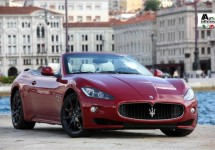 Nieuwe persfoto's Maserati GranCabrio S