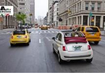 Amerikaanse verkopen Fiat 500 nemen gestaag toe