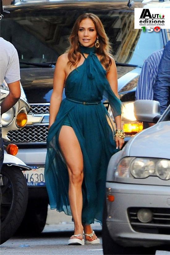 Jennifer Lopez Fiat 500 by Gucci