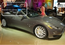 Maserati SUV concept live vanuit IAA van Frankfurt 2011