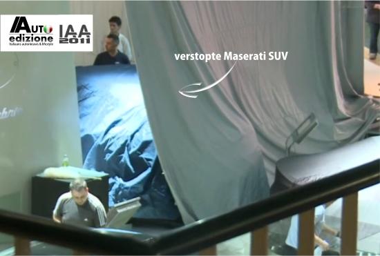 Maserati SUV onthulling