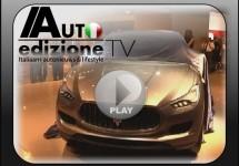 Video onthulling Maserati Kubang concept