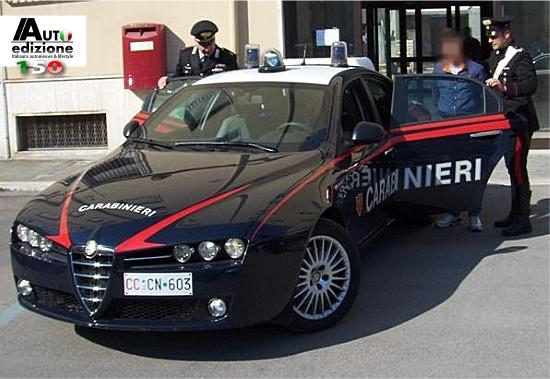 Carabinieri Abarth