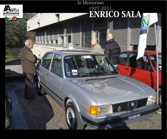 Enrico Sala Alfa Romeo