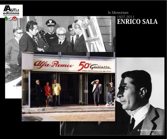 Enrico Sala scomparso