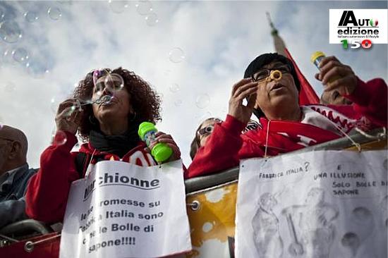 Fabbrica Italia zeepbel