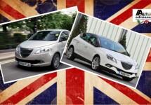 Lancia van start als Chrysler op de Britse eilanden