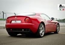 AutoEdizione met 8C bij opening nieuwe Alfa Romeo showroom