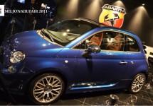 Abarth Cabrio Italia op de Miljonair Fair 2011