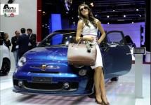 Abarth Cabrio Italia te zien op Miljonair Fair 2011