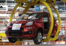 Fiat hervat productie van de Panda na oponthoud door stakingen op de weg