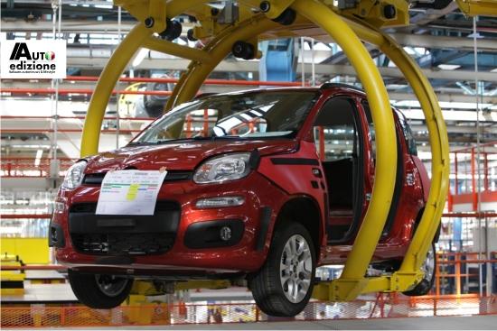 Fiat Panda productie