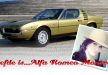 """""""Italiaans voor gevorderden"""" met Evelien van der Bel: Alfa Romeo Montreal"""
