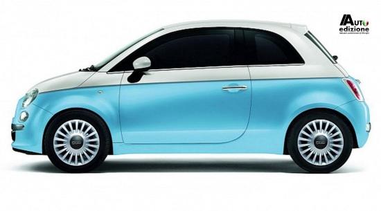 Fiat 500 Id Gelimiteerde Bicolore Modellen Voor De Duitse