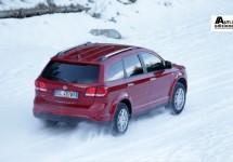 Fiat presenteert de Freemont AWD in de sneeuw