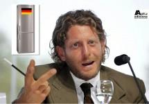 Lapo Elkann geeft college en noemt de Duitse auto de perfecte koelkast