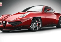 Dit is de Touring Superleggera Disco Volante 2012