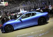 Maserati op de autosalon van Genève 2012