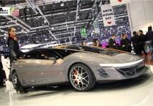 Bertone Nuccio Concept op de autosalon van Genève 2012