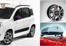 Fiat komt meet zeer uitgebreide accessoirelijn voor de Panda