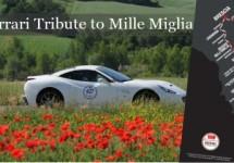 Ferrari doet Tribute to 1000 Miglia tijdens Mille