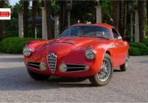 Andrea Zagato rijdt Mille Miglia met zeldzame 1900 CSS Zagato uit 1957