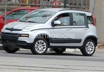 Laatste testrondjes Fiat Panda 4×4