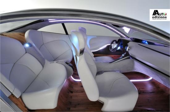 Pininfarina cambiano heeft mooiste interieur van 2012 for Auto interieur reinigen antwerpen