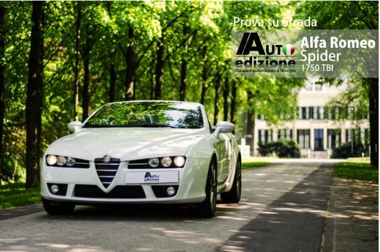 Alfa Romeo Spider 1750 Tbi Ultieme Nieuwe Klassieker Auto
