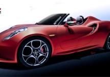 Alfa Romeo 4C Spider volgt begin 2014