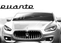 E-segment Maserati Levante te zien op IAA 2013