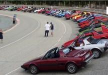 Bijzondere meeting ter gelegenheid van 40 jaar Fiat X1/9