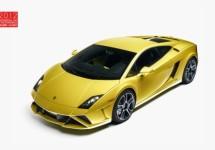 Nieuwe Lamborghini Gallardo's in Parijs