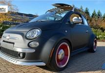 Fiat Amerika naar Sema 2012 met leuke 500 'Beach Cruiser'