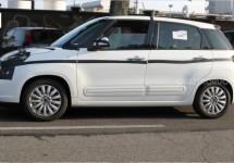 Fiat 500L met zwaardere krachtbron gespot