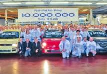 Poolse Fiat fabriek viert tien miljoenste