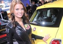 Fiat naar autosalon van Los Angeles met Abarth 500C en 500E