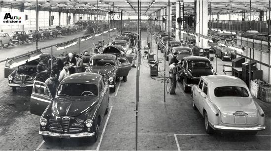 Alfa Romeo Productie Itali 235 Moet Verleden Terugbrengen Auto Edizione