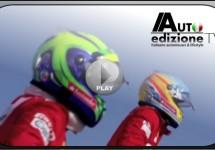 Leuke teaser 500C Abarth USA met Alonso en Massa