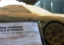Pinifarina's Cambiano concept snijdt hout