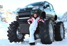 Fiat zorgt voor veel Off road-plezier in de sneeuw