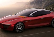 Alfa Romeo Gloria concept voorbode toekomstige sedan?