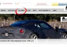 Check alle columns op AutoEdizione.nl