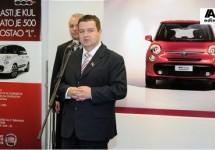Servische premier Dacic wil Fiat's exporteren naar Rusland